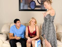 Vicky Vixen & Vanessa Cage & Tony Martinez in Mommy, You And Me Make 3 #02, Scene #04